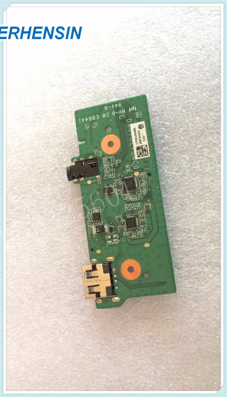 GENUINE ORIGINAL For DELL For AUDIO USB SD CARD READER BOARD DA0Y0ETB4C0
