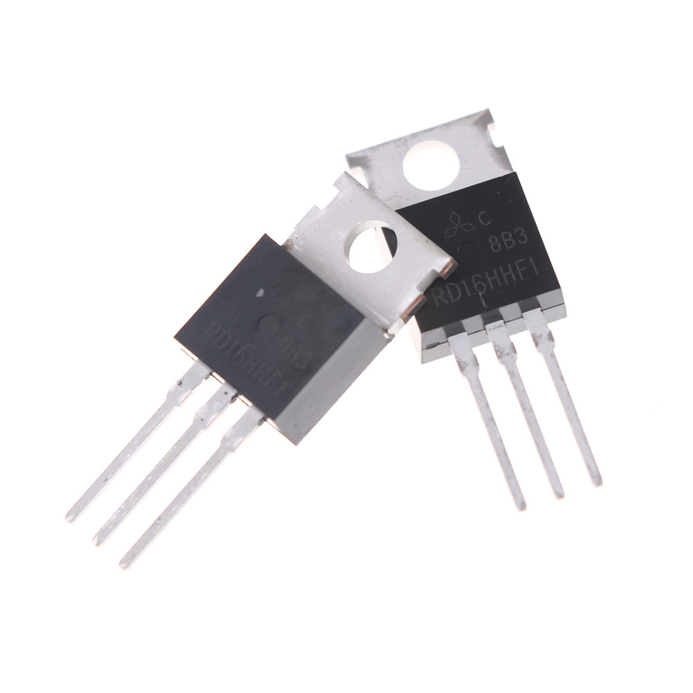 2PCS RD16HHF1 TO-220 POWER MOSFET ORIGINAL MITSUBISHI NEW