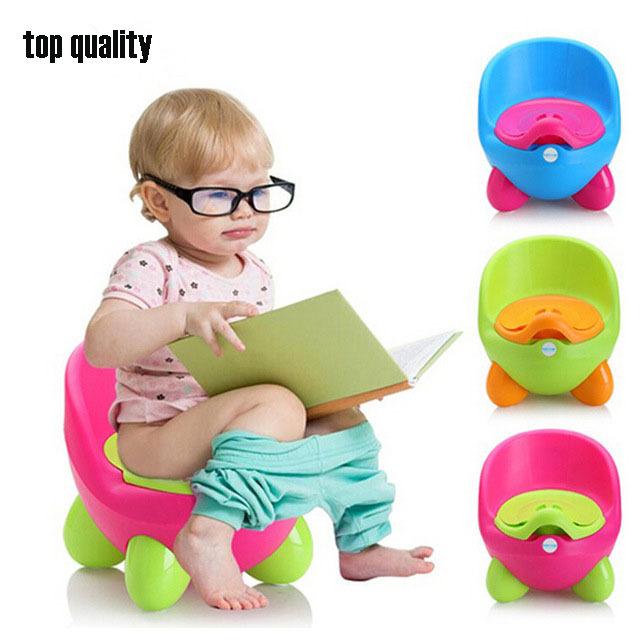 Calças de Treinamento Bacio bebé de Plástico Pinico Mictório Menino Assento Do Vaso Sanitário Dobrável Protable Viagem Cadeirinha Infantil Crianças Pee Instrutor