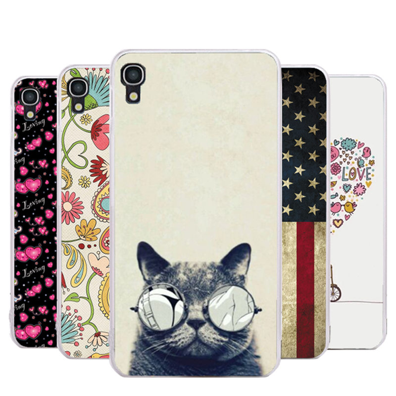 Hot Sale Alcatel idol 3 Case 4.7, New Fashion Cartoon Colorful Painted Case For Alcatel One Touch Idol 3 4.7