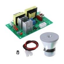 100 Вт 28 кГц ультразвуковой генератор силовая плата и преобразователь вибратор для сверхзвукового очистителя 220 В переменного тока