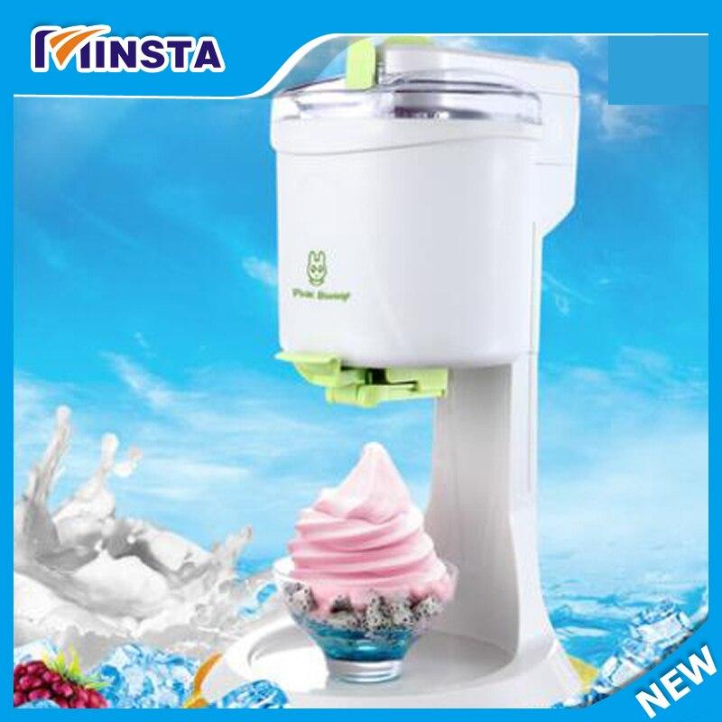 Frozen Yogurt Ice Cream Machine  BIG Capacity 220V New Arrival home use soft ice cream making machine edtid new high quality small commercial ice machine household ice machine tea milk shop