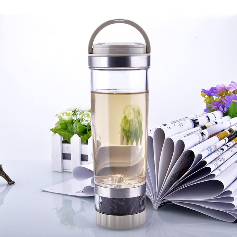 Handy Portable Tea Bottle Car Sealed Bottle with Filter Personal Travel Water Bottle 500ml Creative Drinkware
