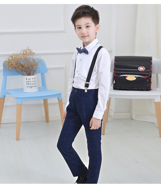 2017 Brand England Style Formal Boys Suits for Weddings Kids Prom ...