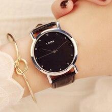 Корейская версия пояс в стиле ретро полые простые студенческие часы тенденции моды мужские кварцевые часы женский