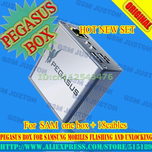 Envío libre pegasus box con 18 cables para samsung