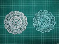 Flower Bottom Frame Metal Die Cutting Scrapbooking Embossing Dies Cut Stencils Decorative Cards DIY Album Card