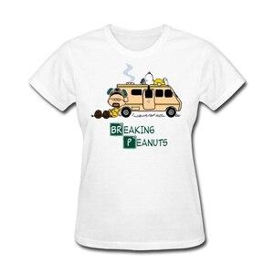 Image 3 - Mashup t shirt femme à manches courtes, tendance de la série Bad and cacahuètes, cadeau chrétien, site web