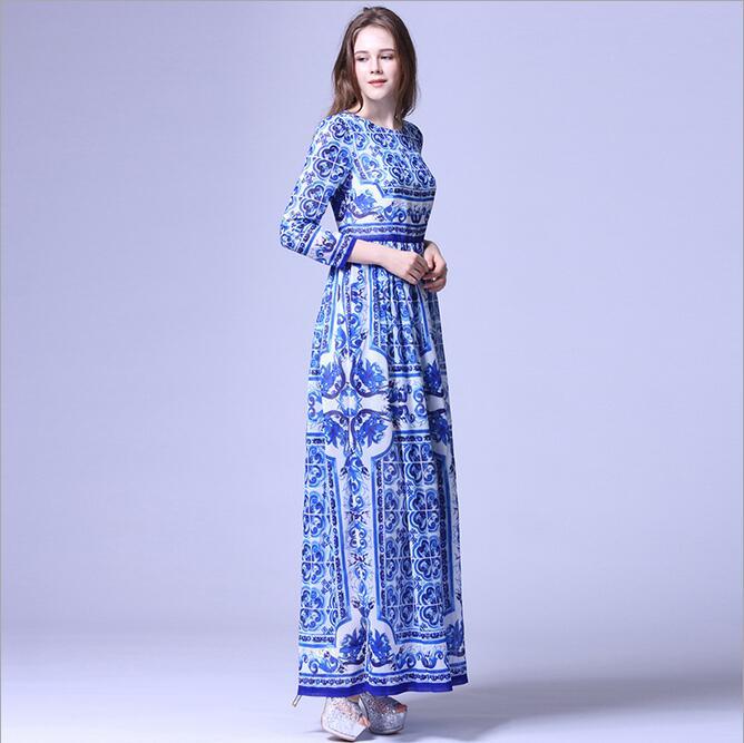 Hi Q Boho runway dress Lace Pierced Maxi Dress Plus Size Women Clothing Womens Sexy Dresses