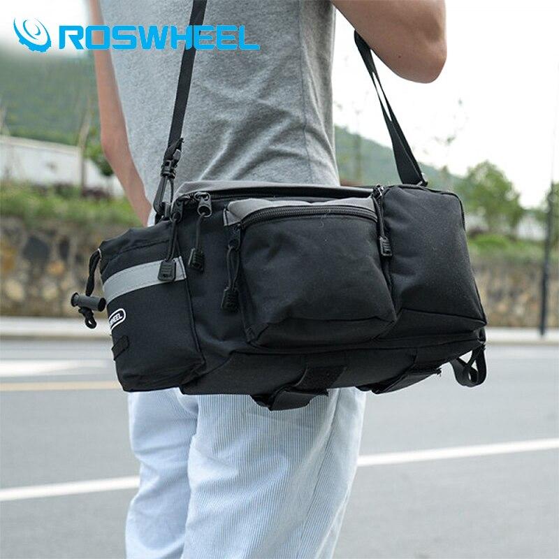 Roswheel font b Bicycle b font font b Bag b font Accessories Black font b Bag