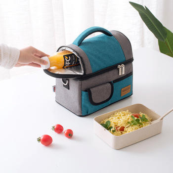 New fashion lunch bag  thermal ins
