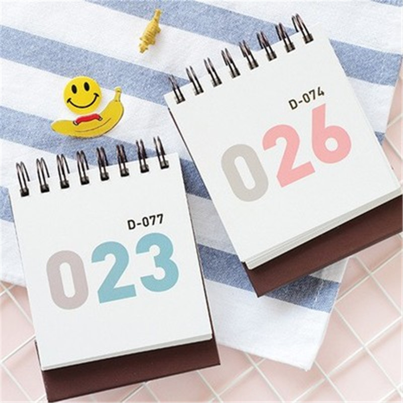 100 Days Countdown Calendar Daily Plan Calendar Notebook Study Plan Regular Agenda Home Office Storage