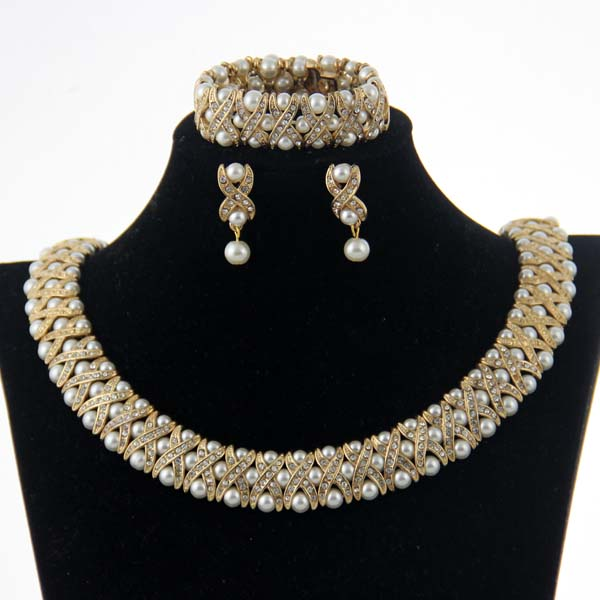 CHRAN Costume Wedding Accessories Brand Crystal Jewelry Sets Elegant