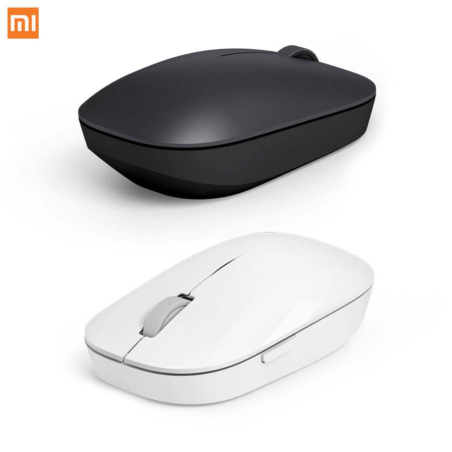 Xiaomi Mi Mouse Wireless Mouse Black 2 4Ghz 1200dpi Portable For Macbook Windows 8 Win10