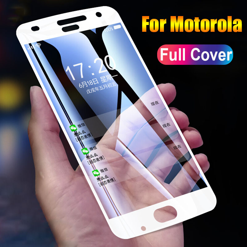 9H Screen Protector For Moto G5 G5s Plus 360 Full Tempered Glass For Motorola E4 C G6 Plus Z3 Z2 Play G6Plus Glas Film Display