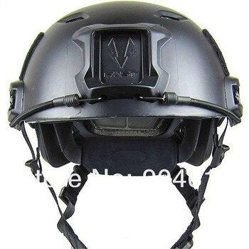 Casque moto AIRSOFT rapide casque de BASE STYLE saut casque noir pour airsoft chasse cyclisme casque
