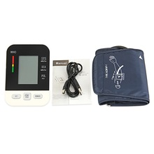 Automatic Digital Arm Blood Pressure Monitor BP Sphygmomanometer Pressure Gauge Meter Tonometer for Measuring Arterial Pressure abpm50 ce fda approved 24 hours patient monitor ambulatory automatic blood pressure nibp holter with usb cable