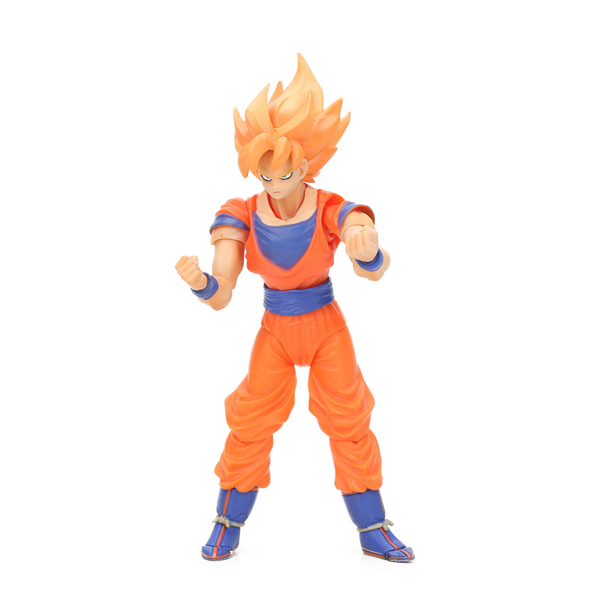 Dragon Ball Z Action Figure Gohan Goku Vegetto Vegeta Trunks Piccolo Freeza 18 with rotating joints 13