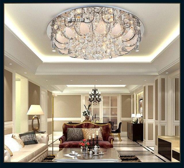 Deckenleuchte Led Kristalllampe Moderne Einfache Wohnzimmer Lampe  Schlafzimmer Restaurant Kronleuchter Kreative Beleuchtung TA92113