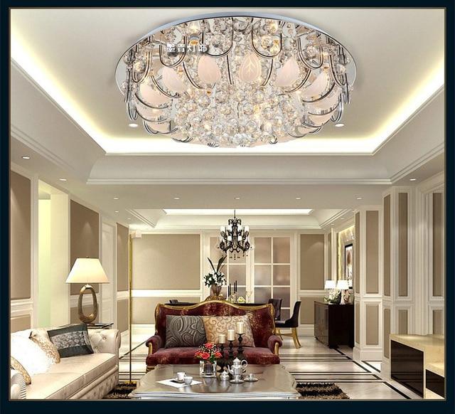 Plafondlamp LED crystal lamp moderne eenvoudige woonkamer lamp ...