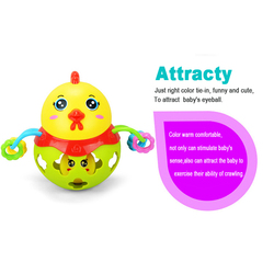 Lezonclub baby toy lovely chick grip ball climbing soft rattle ball rattles infant toys 0 12.jpg 250x250
