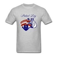 Patriot Day Remember September 11 T Shirt Short Sleeve Clothes Popular Random Plus Size Cotton Crewneck Eagle Shirts For Boys