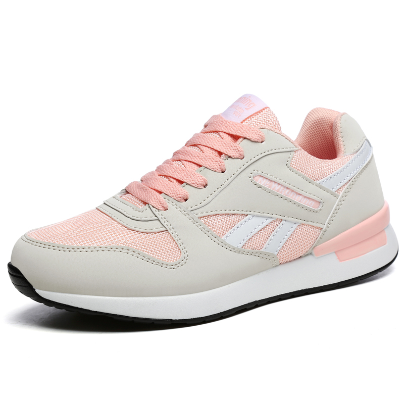 Купить с кэшбэком Hot Sell Men Womens Athletic Shoes Sport Sneakers Autumn Spring Breahtable Running Shoes for Couples Green Gym Jogging Trainers