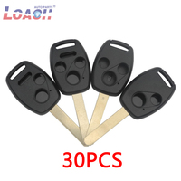 30pcs 2/3/4 Buttons Car Key Case Shell Remote Fob Cover With Logo For Honda Cr V Civic Insight Ridgeline 2003 2008 2009