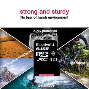 Image 5 - Kingston Micro Carta di DEVIAZIONE STANDARD Mini Scheda di Memoria 16GB 32GB 64GB 128GB MicroSDHC UHS I SD/TF leggere la Carta Adattatore Flash Card per Smartphone