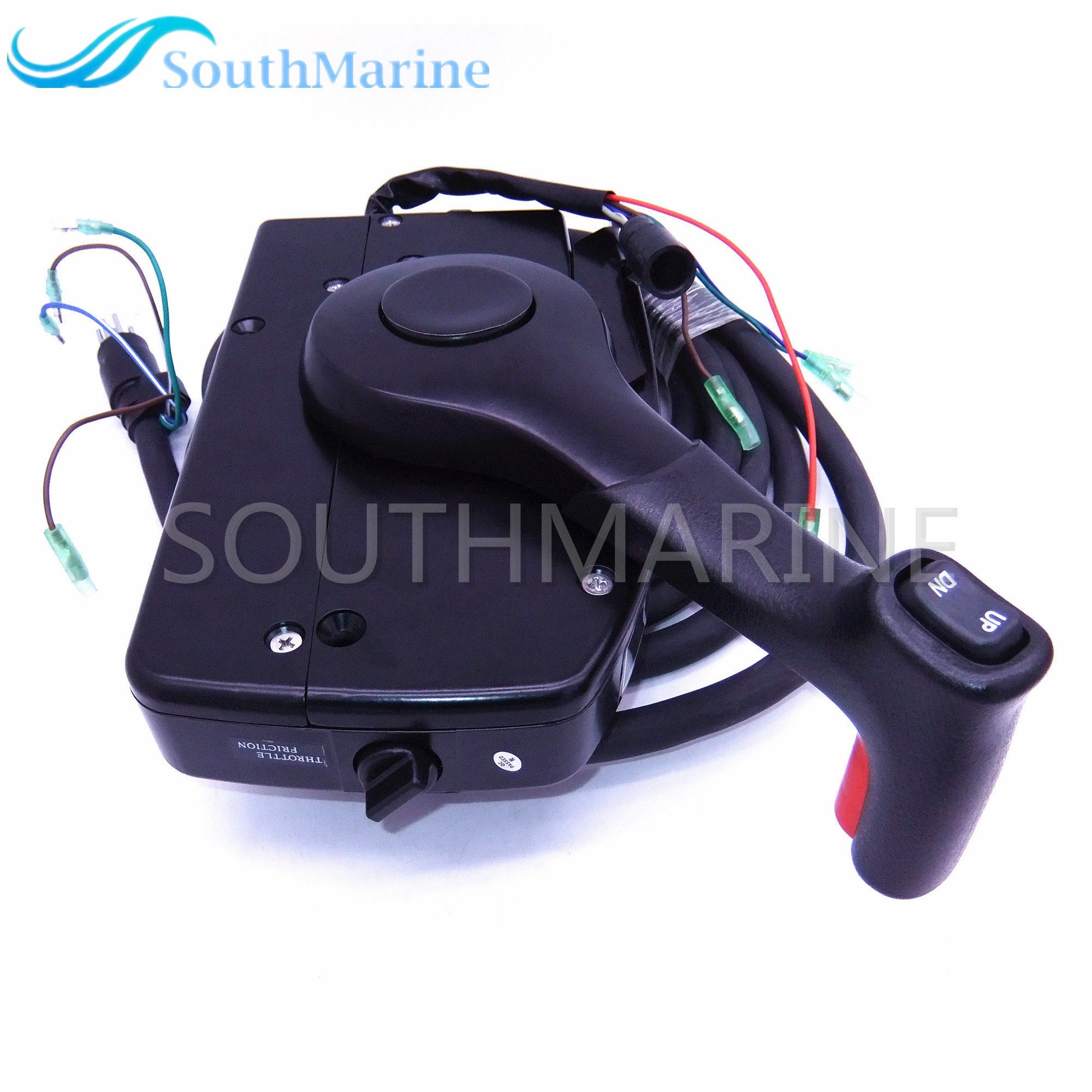 881170A15 Boat Motor Side Mount Remote Control Box With 8 Pin for Mercury Outboard Engine PT Left Side цена