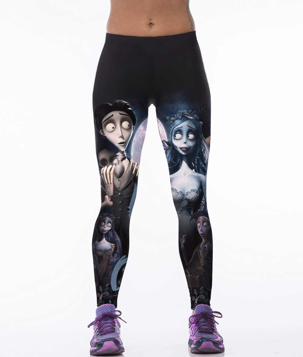 da21a348c3fa Detail Feedback Questions about Corpse Bride Elastic Running Pants Plus  Size S To 3xL Women Elephant Ganesa Dance Black Trousers 3 Patterns on ...