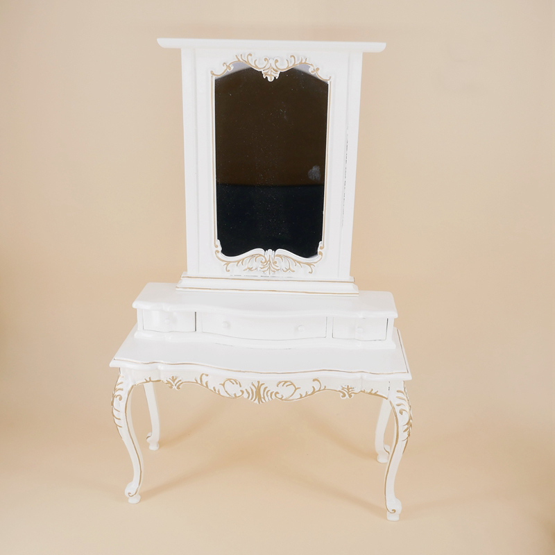 1:6 Miniature Dressing table for dolls Dollhouse accessories simulation white Furniture toy pretend play toys for girls gifts1:6 Miniature Dressing table for dolls Dollhouse accessories simulation white Furniture toy pretend play toys for girls gifts