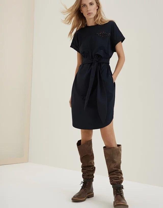 Women Dress 2019 New Beaded Dress