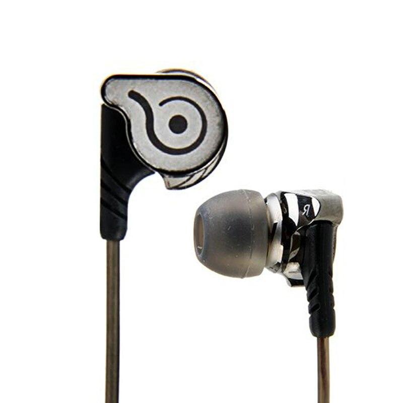 Oreillettes intra-auriculaires haute Performance HiFi KC06 écouteurs sans perte bruit stéréo en métal Canselling