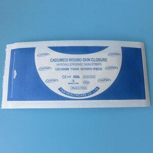 Image 4 - 2 упак./лот, 6*100 мм (10 полосок),12*100 мм (6 полосок), медицинская хирургическая клейкая лента, не требуется для швов