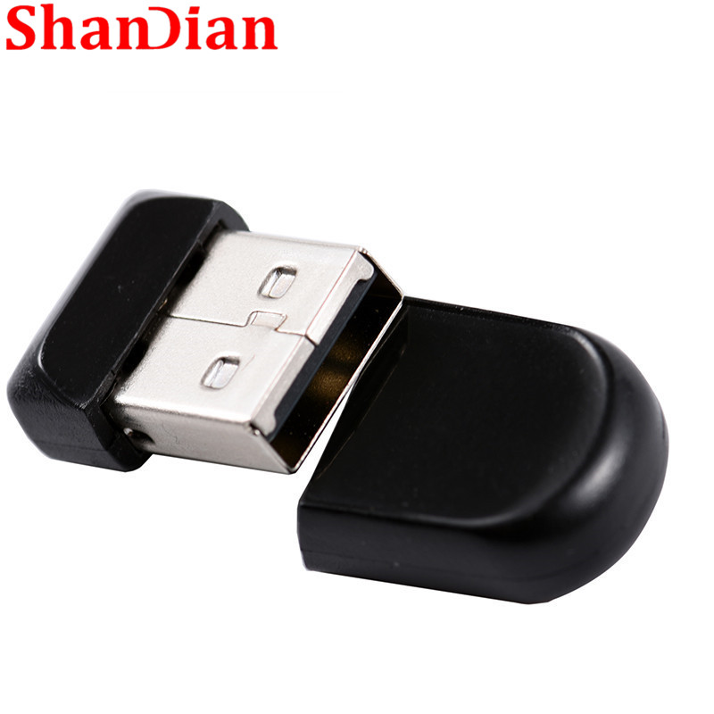 SHANDIAN 100% Real Capacity Super Tiny Mini USB Flash Drives USB 2.0 Pendrive 64GB 32GB 16GB 8GB 4GB Thumbdrive USB Memory StI