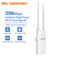 1200Mbps Gigabit Dual Band 5.8G Outdoor AP Router Omnidirectional WiFi access point Signal Hotspot Amplifier Repeater Antenna AP