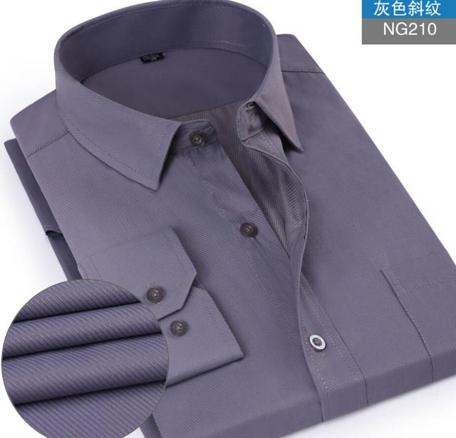 13fcb13a7bb Long Sleeve Mens Dress Shirts 2017 Spring New Plus Size 5XL Male Business  Slim Fit Camisa