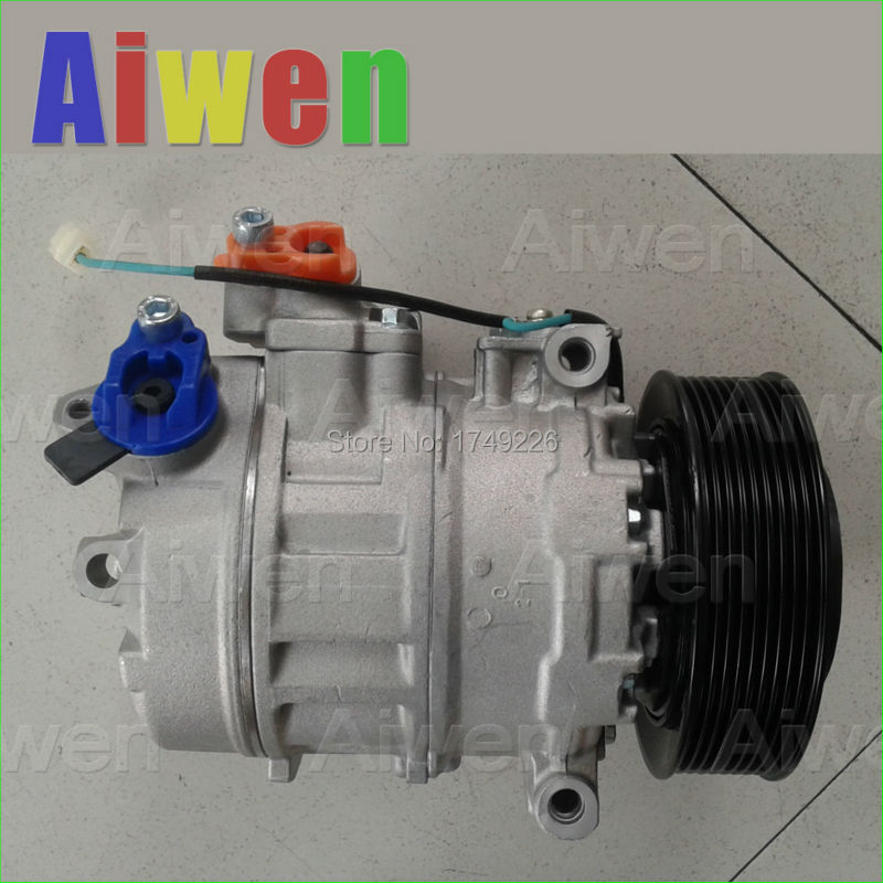 OE Genuine original A/C compressor r134a mini air conditioner for car AUDIA6 B5 4B C5 Vo ...