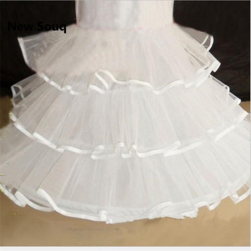 2019 Mermaid Wedding Petticoat Prom Dress Underskirt Bridal Petticoat White Long Crinoline Petticoat Wedding Accessories