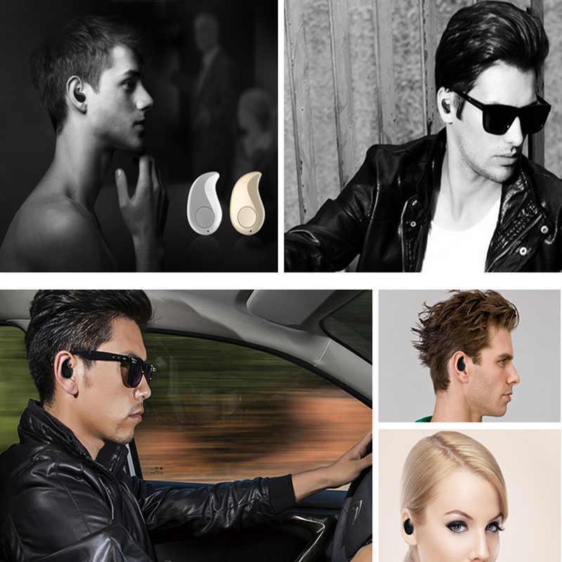 Mini Wireless w ucho Słuchawka Niebieski ząb Słuchawki S530 głośnomówiący Słuchawki Niebieski ząb Stereo Auriculares
