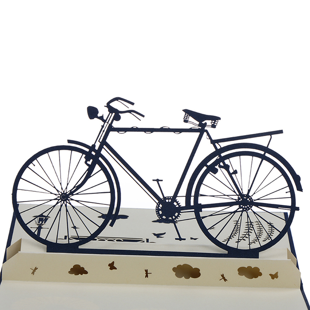 Funny 3d pop up cards handmade sports bicycle bike happy birthday funny 3d pop up cards handmade sports bicycle bike happy birthday christmas greeting card m4hsunfo