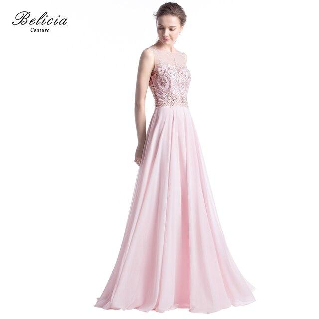 Lange abendkleider rosa