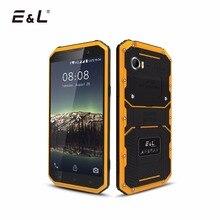 E & L W9 оригинальный мобильный телефон сенсорный телефон Водонепроницаемый ударопрочный телефон Ip68 прочный телефонов 4 г смартфон Android 6 дюймов Восьмиядерный