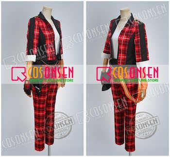 Cosplayonsenをアンサンブル星スバルakehoshi赤コスプレ衣装