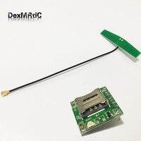 1 PC menor GSM GPRS módulo SIM800L quebrar a placa placa de adaptador de cartão microSIM Ultra 900A|board board|board module|board card -
