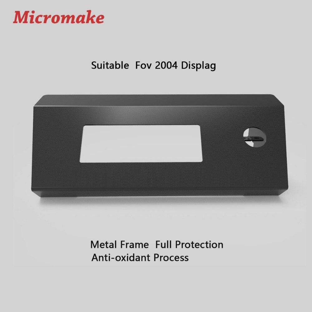 Micromake 3D принтер обновление Обложка для 2004 Дисплей холодная-ролл Стальные листы Рамки защиты