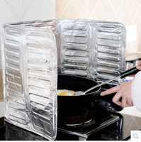 Vanzlife-Placa de cocina antisalpicaduras de aceite, placa deflectora caliente