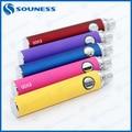 1 unid Cigarrillo electrónico Colorido mt3 evod batería (1 * EVOD batería)