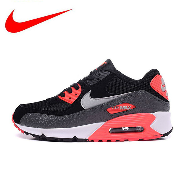 a42b86de17 Original Authentic NIKE AIR MAX 90 Men's ESSENTIAL Running Shoes Sport  Outdoor Sneakers Athletic Tennis Designer